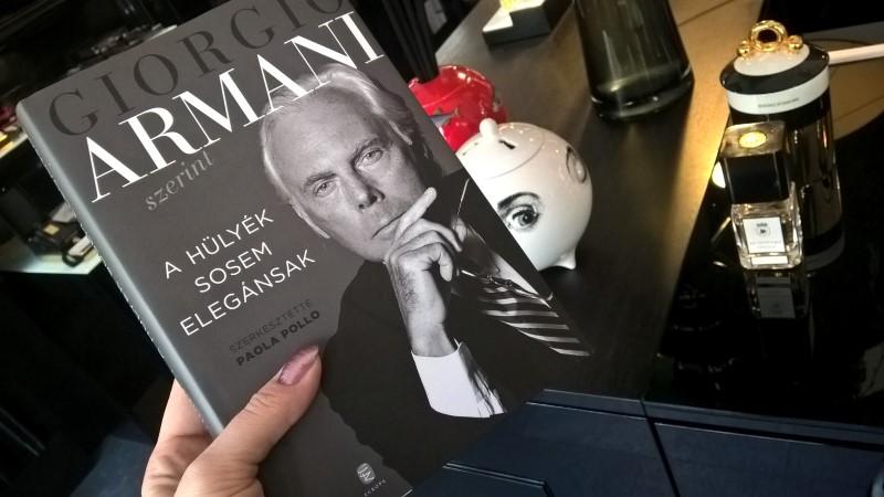 Armani szerint a hülyék sosem elegánsak - minden-mas, konyvajanlo-2, ajanlo -