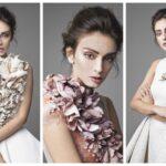 Krikor Jabotian esküvői ruháit virágok inspirálták