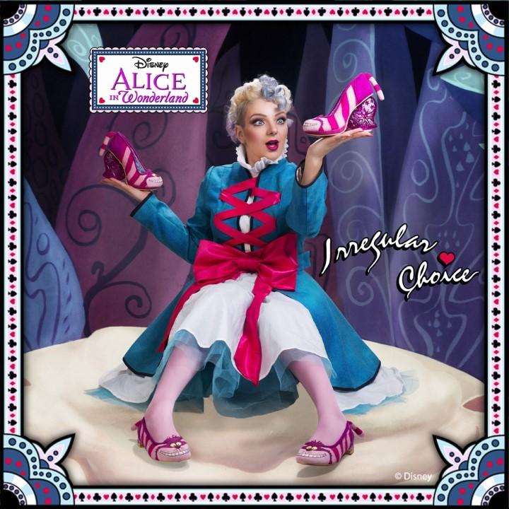 Alice Csodaországban inspirálta az Irregular Choice cipőit - minden-mas, kiegeszitok-2, cipo-2 -