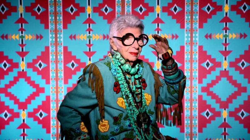 Hihetetlen, hogy Iris Apfel 97 évesen milyen szakmába kezd - ikonok-es-divak -
