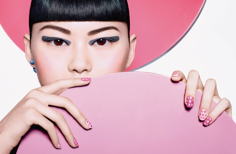 Pop art inspirálta a Dior sminkjeit - smink-2, beauty-szepsegapolas -