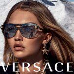 Gigi Hadid lett a Versace szemüvegek új kampányarca