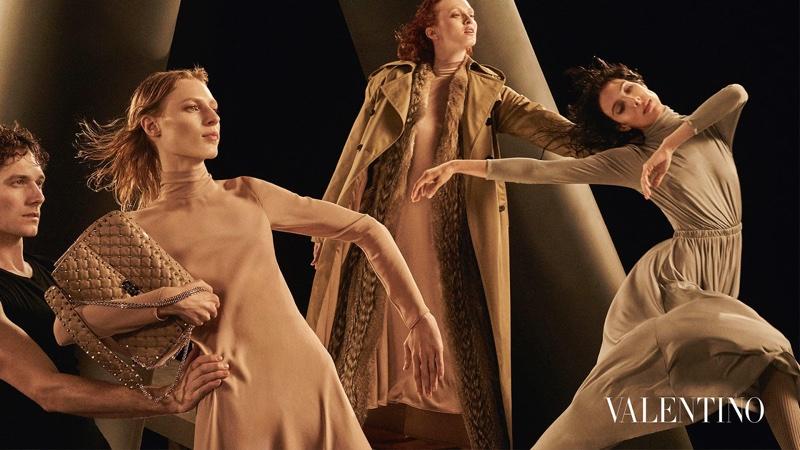 Valentino kortárs balett divatanyag divatfotó