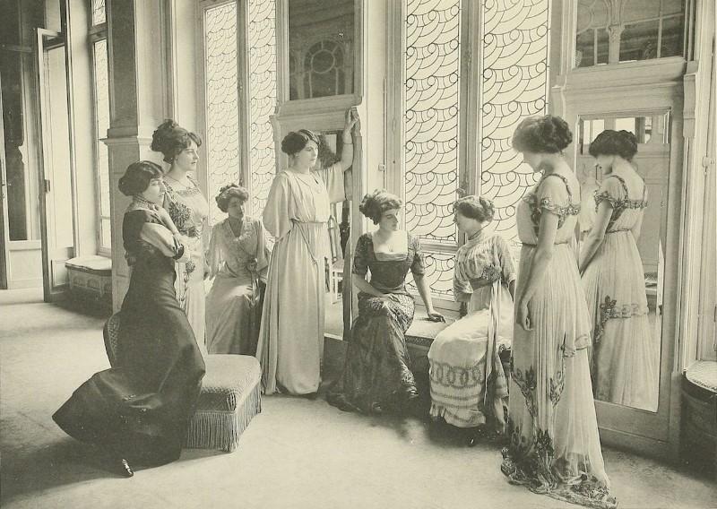 Így készült a divat 100 évvel ezelőtt - minden-mas, divat-tortenetek, ujdonsagok -
