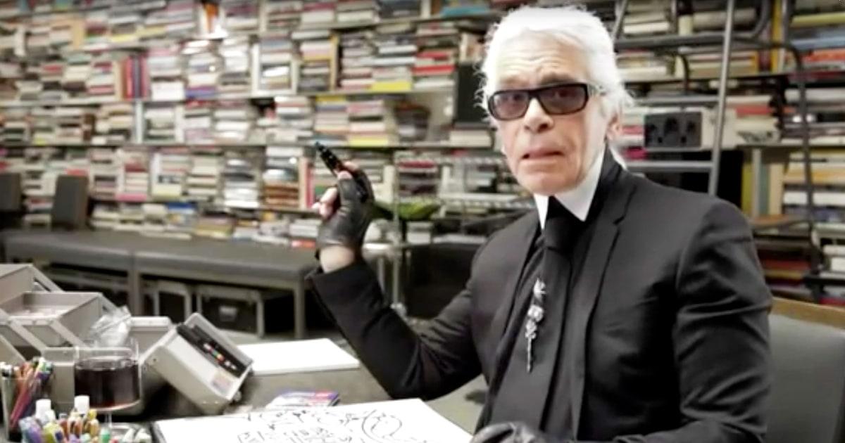 Karl Lagerfeld a Faber-Castell-lal készít rajzdobozt - minden-mas, artdesign -