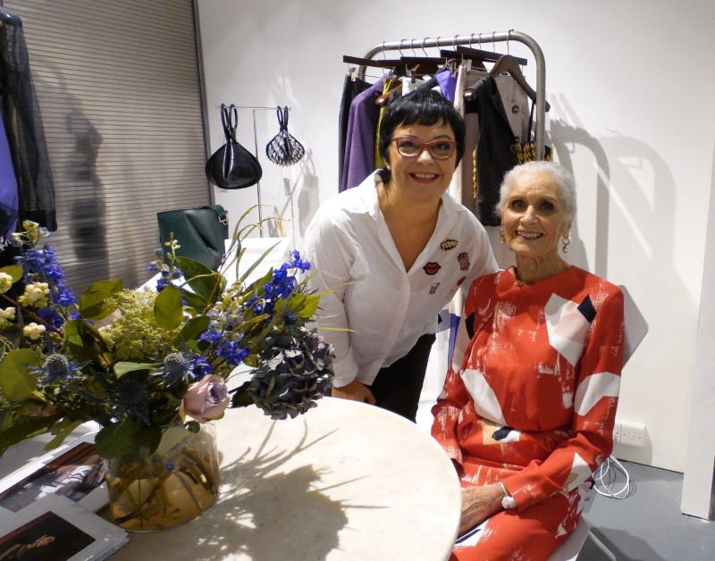 Daphne Selfe Parádi Gabriella London Fashion Week