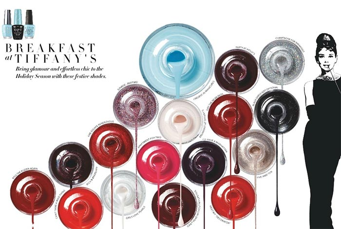 Az OPI Breakfast At Tiffany's kollekcióval készül az ünnepi szezonra - koromlakk-2, beauty-szepsegapolas -