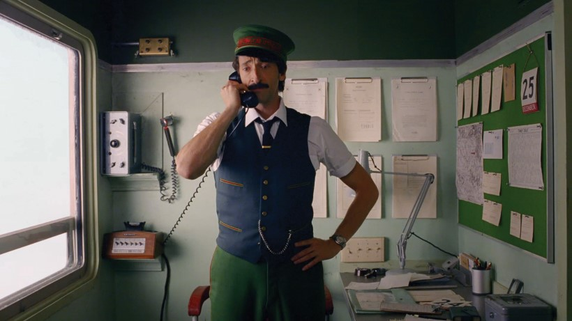 H&M Wes anderson Adrian Brody reklám film