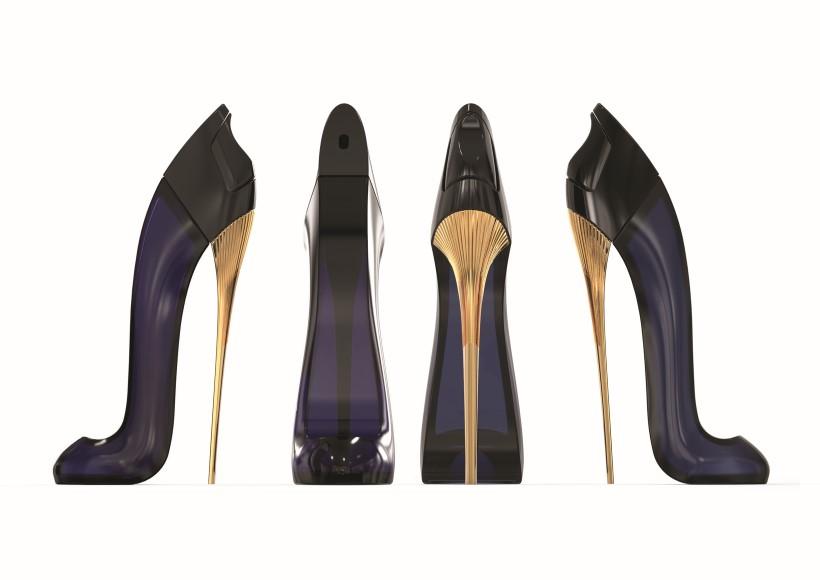 Carolina herrera cipő formájú parfüm good gir