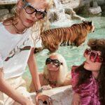 Rómában tigrisek és oroszlánok közt fotózta új kampányát a Gucci