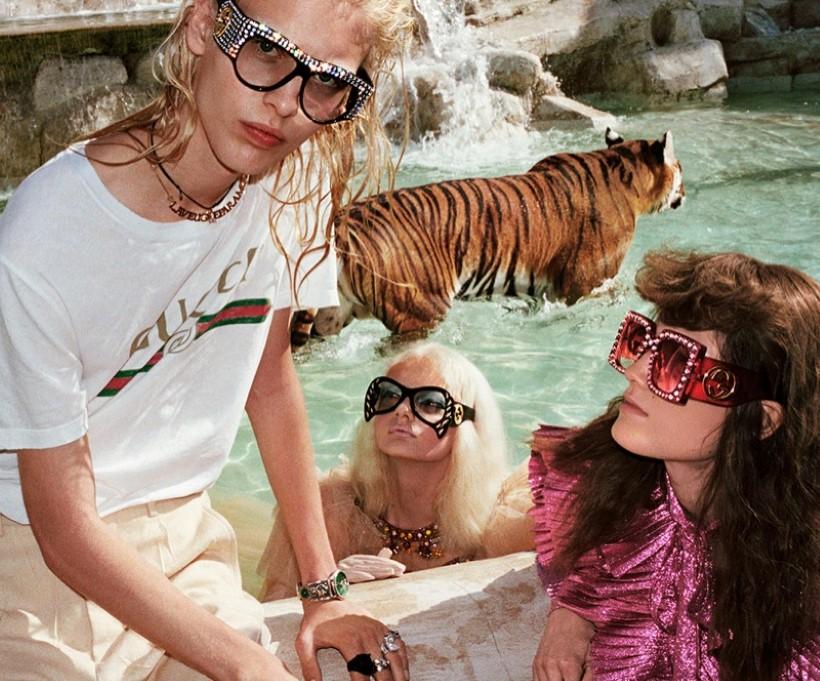 Gucci 2017 nyár kampány Róma