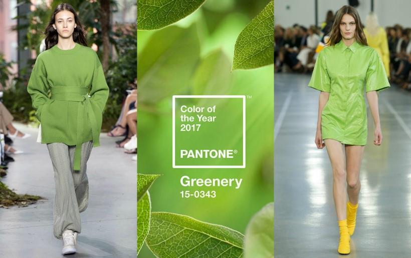 Pantone 2017 év színe zöld
