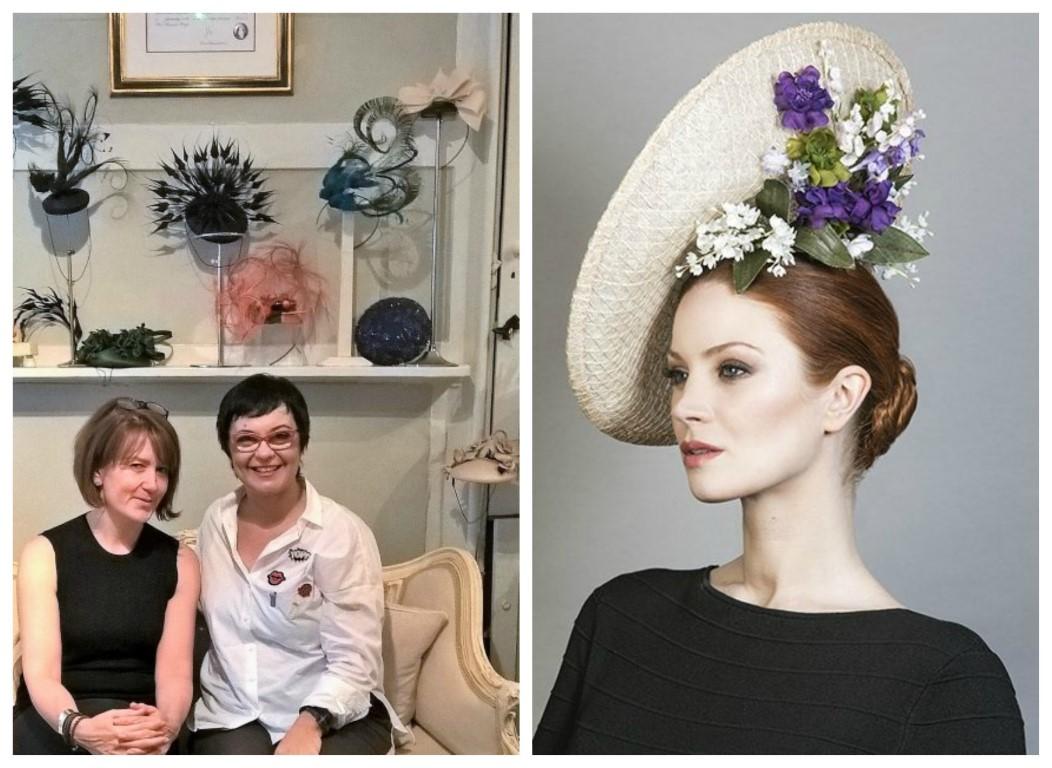 rachel trevor morgan angol királynő kalaptervező