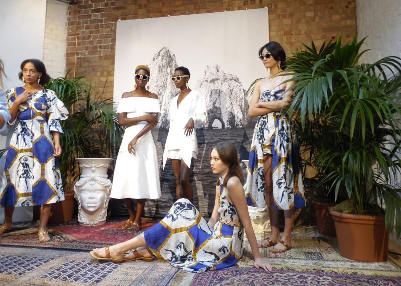 Tata Naka London fashion week mac make up Cher Webb