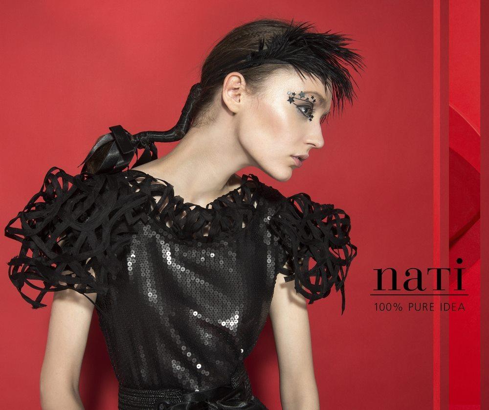 Gyulai Natális Nati 100% pure idea magyar tervező fekete ruha