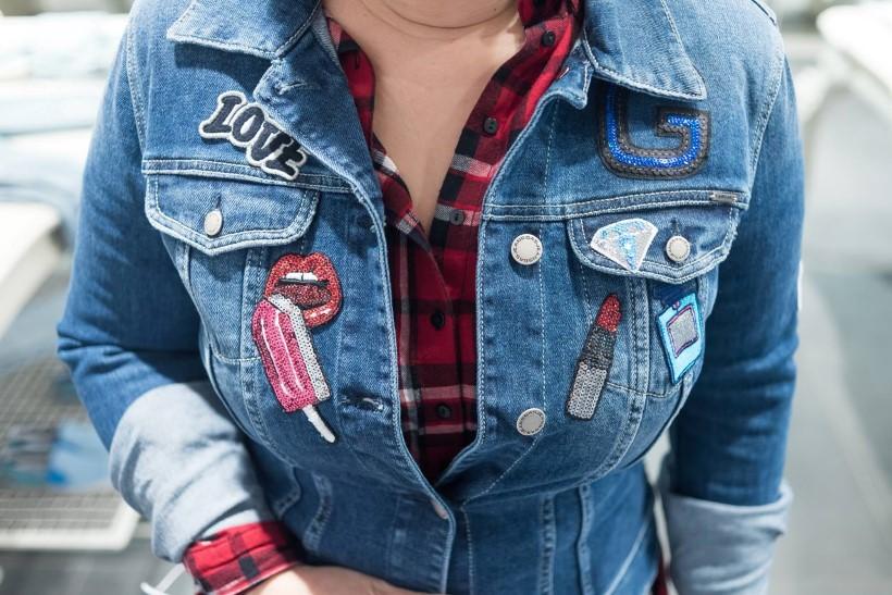 gas jeans felvarrók farmer dzseki