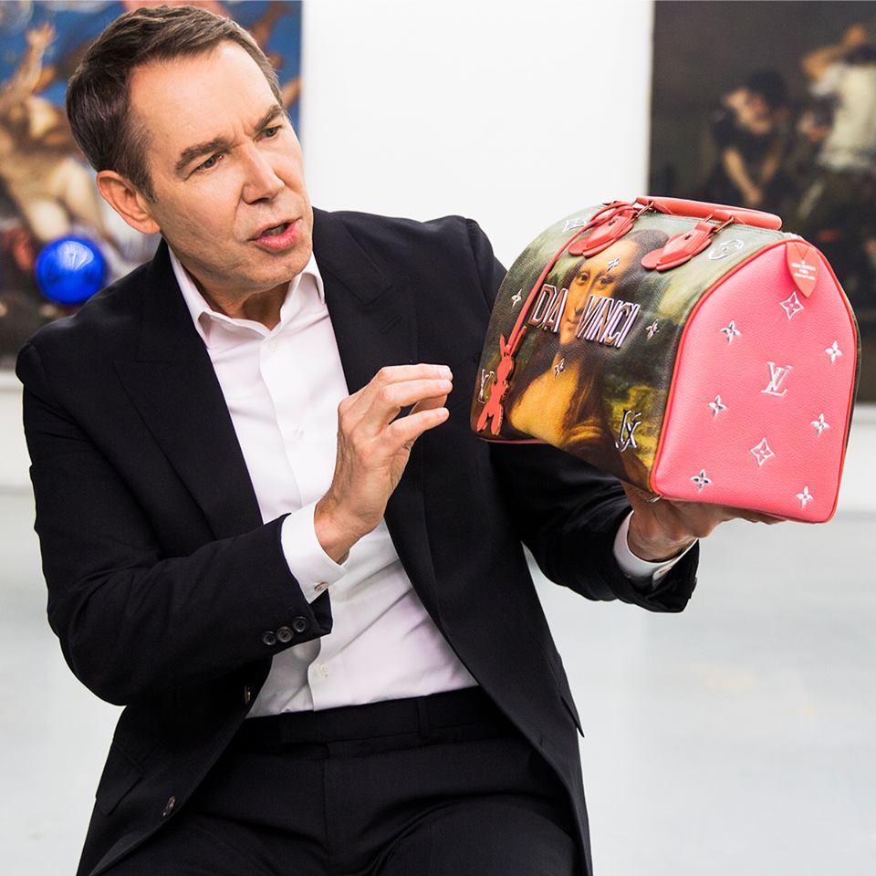 Jeff Koons Louis Vuitton-nal hasznosította újra a mesterműveket - taska-2, kiegeszitok-2 -