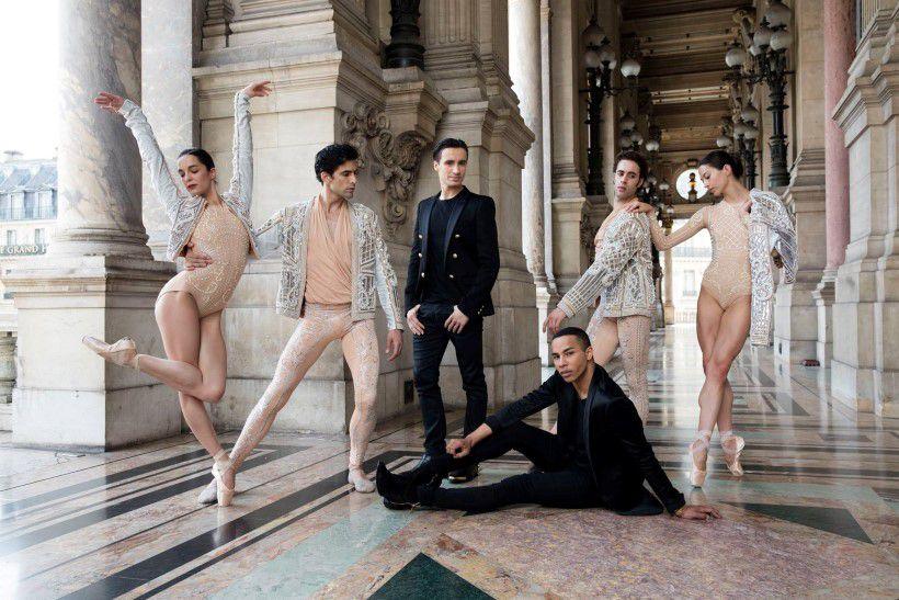 Balmain kreációkban táncolnak a Párizsi Operaház balett művészei - minden-mas, jelmez -