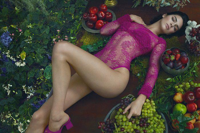 Káprázatos fehérnemű kampány Kendall Jennerrel- La Perla - fehernemu-2 -
