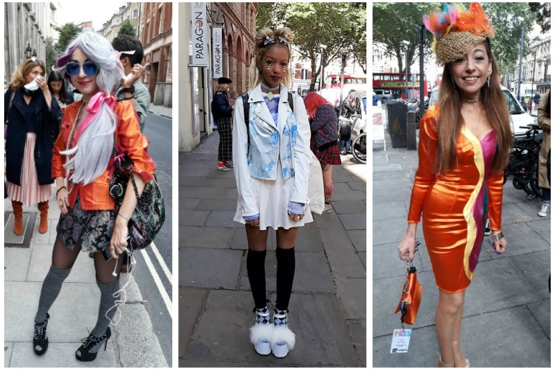 London Fashion Week SS18 Street Style - london-fashion-week, ujdonsagok -