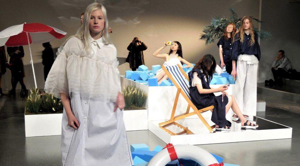 #LFW Steventai SS18 - mediterrán nyár - tavaszi-es-nyari-divat, london-fashion-week -