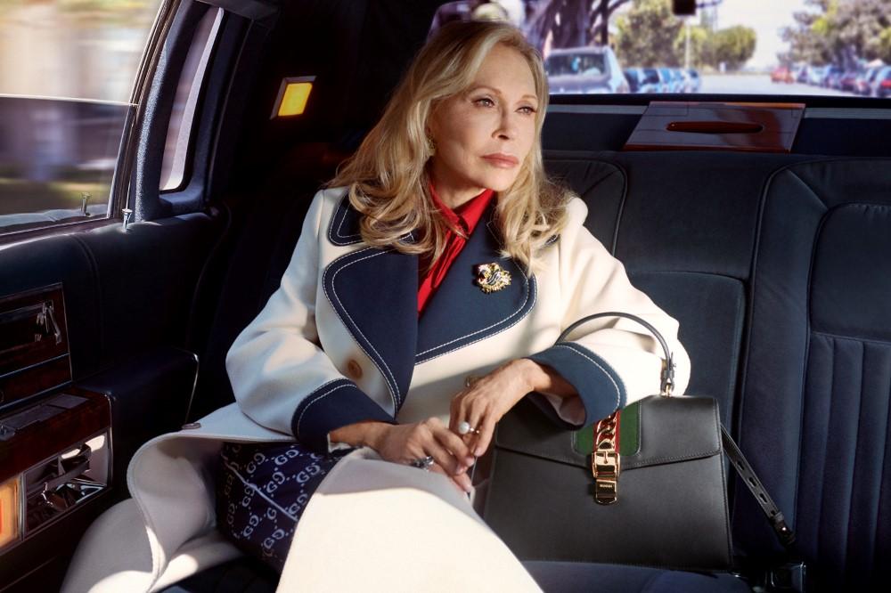 Faye Dunaway a Gucci új táska kampányában szerepel - kampanyok -