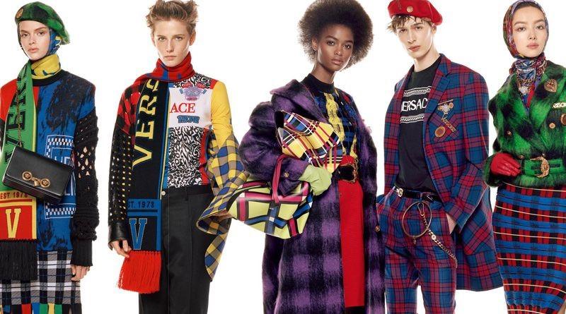 54 modell szerepel Versace 2018 őszi-téli kampányában - kampanyok -