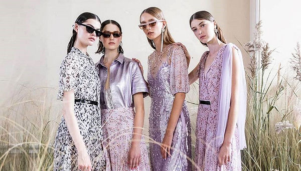 #LFW Markus Lupfer SS 2019 - óceán parti nyár - tavaszi-es-nyari-divat, london-fashion-week, fashion-week -