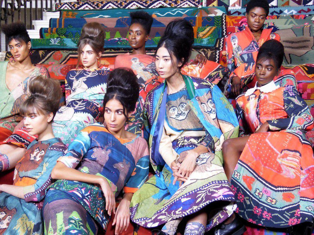 #LFW Tata Naka FW 18/19 - és a karaván halad... - pumpkin-paradise-divat-beauty, oszi-es-teli-divat, minden-mas, london-fashion-week, fashion-week, divattervezo -