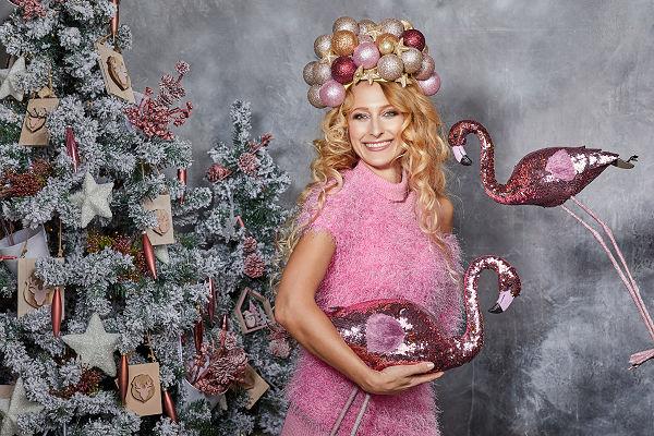 süel pink rózsaszín kötött magyar tervező