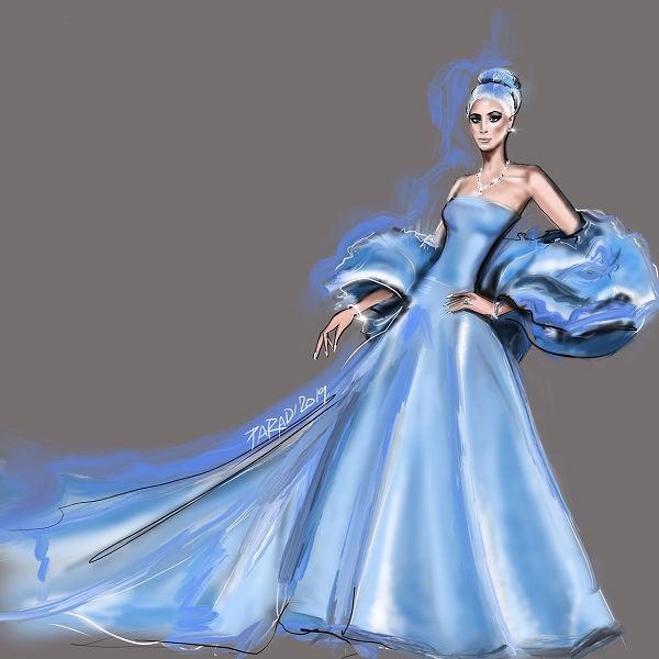 Lady Gaga a Golden Globes-on Judy Garlandot idézte ruhájával - voros-szonyeg-2, jelmezeksztarok, illusztracio -