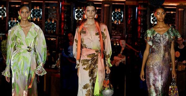 #LFW Peter Pilotto SS19 - Gallé vázák és szecesszió - tavaszi-es-nyari-divat, london-fashion-week, fashion-week -