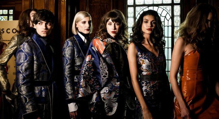 Malan Breton fw 2018 2019 Omega London Fashion week
