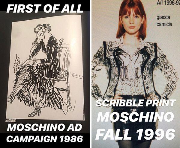 Lopással vádolta a Moschino-t, de nem jött össze - ujdonsagok -