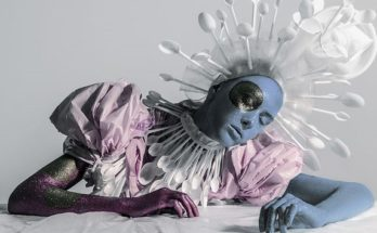 Recycling art - szemétből lett divatfotók - design-2, artdesign -