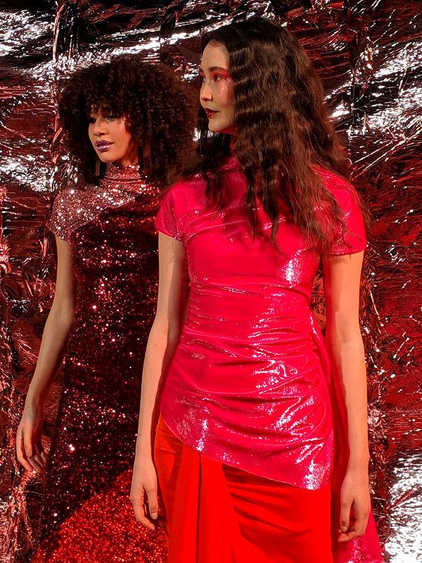 Paula Knorr London Fashion Week AW 19 20 divathét disco