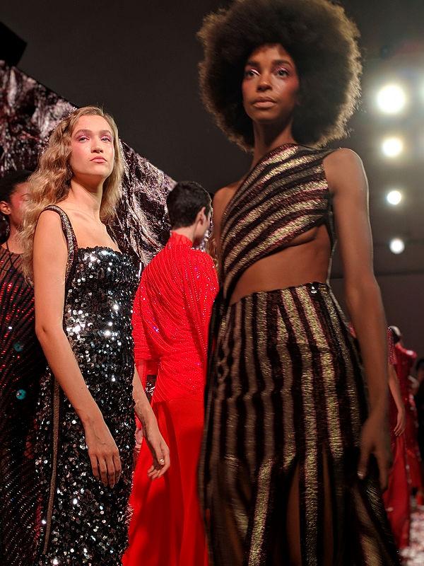Paula Knorr London Fashion Week AW 19 20 divathét disco korszak