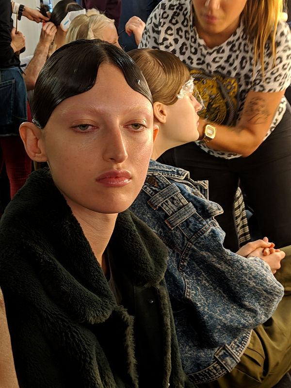 Richard Quinn backstagé-ben jártam a MAC Cosmetics-szel - smink-2, beauty-szepsegapolas -