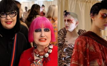 London Fashion Week divathét style 2019 Zandra Rhodes