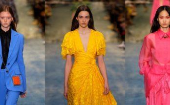 Carolina Herrera FW19 - virágzó ősz és tél - oszi-es-teli-divat, fashion-week -