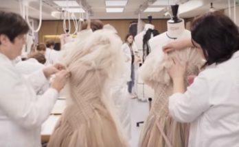 Így készült a Dior makramé ruhája 2019SS - ujdonsagok -
