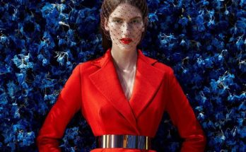 Dior red Bar coat how is it made