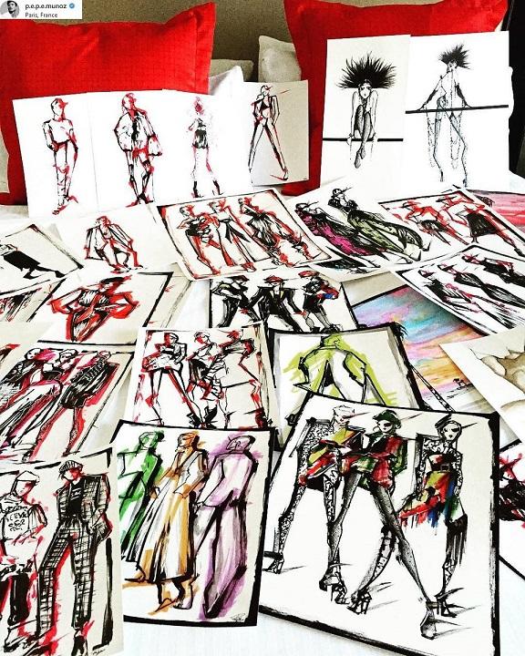 Fantasztikus rajzokat készít Céline Dion táncos barátja - illusztracio, artdesign -
