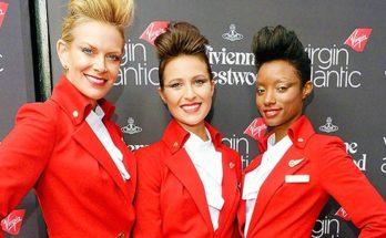 Nem kötelező a Virgin légikísérőinek a sminkelés - ujdonsagok -