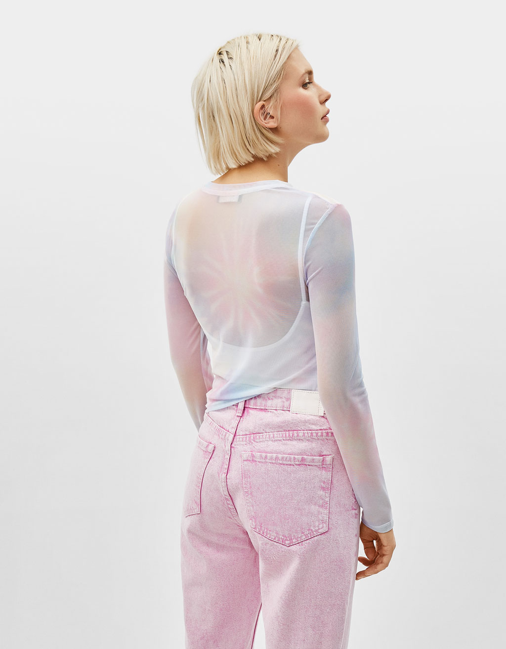 Bershka SS 2019 - Pastel Colours from the 80's - fashion -