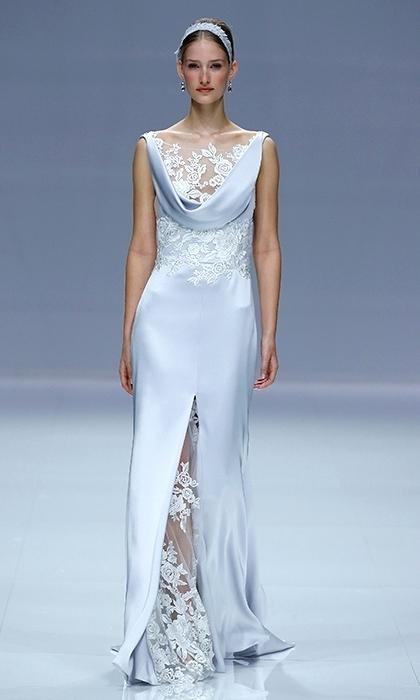 blue-and-silver-wedding-dress-combined-embroidered-lace ...
