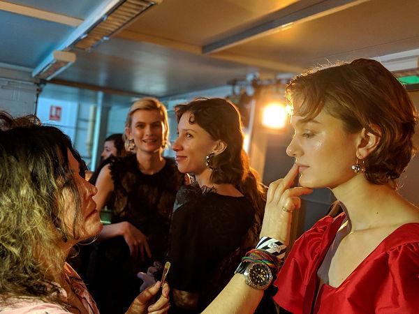 Preen by Thornton Bregazzi backstage- barátkozzunk meg a barna rúzsokkal! - beauty-szepsegapolas, backstage -