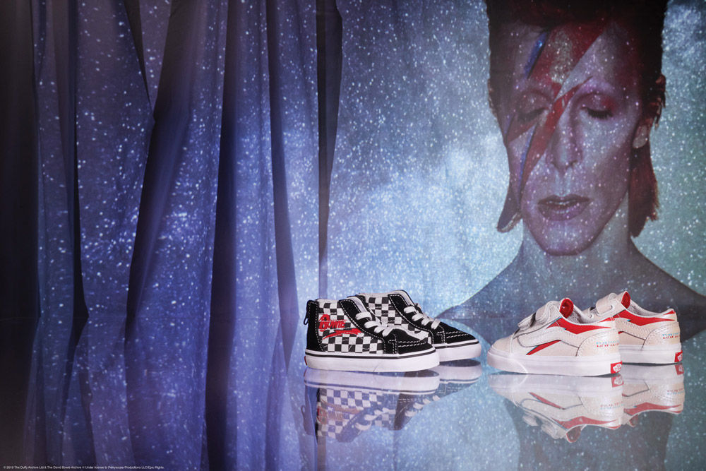Vans X David Bowie kollekció - ujdonsagok, cipo-2 -