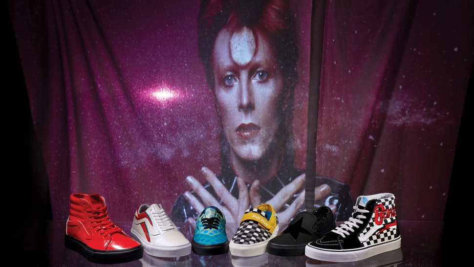 BE QUICK: VANS X BOWIE COLLECTION IS HERE! - footwear, fashion -