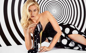 Good Girl Collector Edition Dot Drama Carolina Herrera pöttyös cipő parfüm karlie Kloss modell